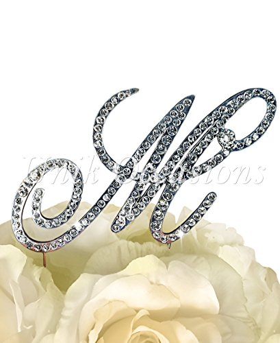 Victorian Collection Monogram Rhinestone Topper product image