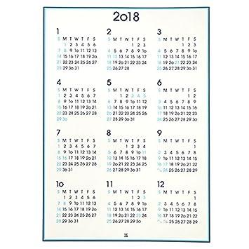 伊東屋 2018 ポスターカレンダー A1 縦