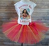 Moana Tutu Set, Moana Birthday Outfit