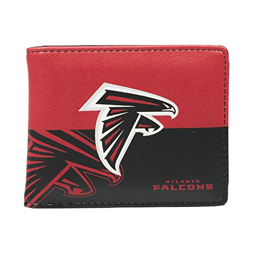 Basketball Falcons (NFL Atlanta Falcons Bi-fold Wallet)