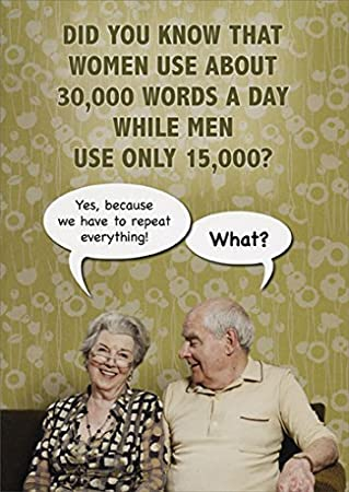 Amazon 30000 words a day funny birthday card kitchen dining 30000 words a day funny birthday card bookmarktalkfo Gallery
