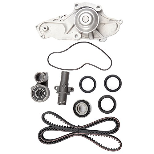 ECCPP Timing Belt Water Pump Kit Fit for 2003 2004 2005 2006 2007 2008 2009 2010 2011 2012 2013 2014 2015 Acura MDX /2005 2006 2007 Honda Accord 3.0L 3.2L 3.5L 3.7L V6 Gas SOHC ()