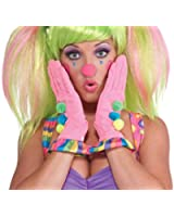 Forum Novelties Women's Circus Sweetie Ruffle Gloves