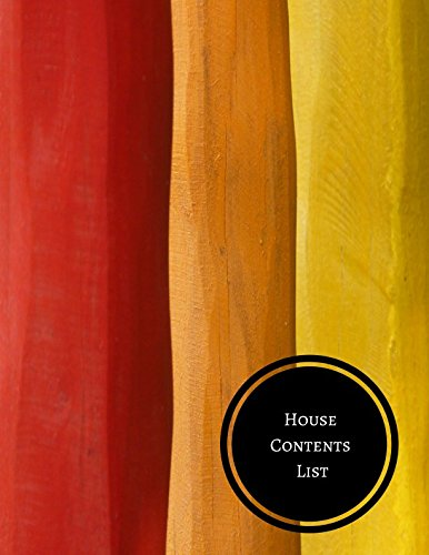 House Contents List