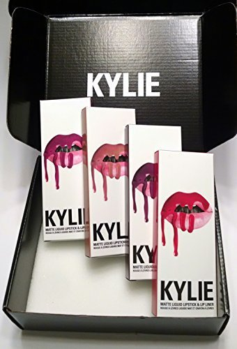 Kylie Cosmetics Kylie Matte LipKit~Set of 4~ Bundle; Kourt K, Mary Jo K, Candy K & Posie K