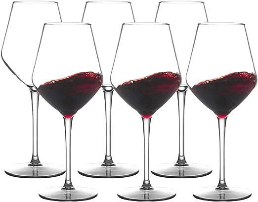 MICHLEY Copa de Vino Grande irrompible, 100% tritan-plástico ...