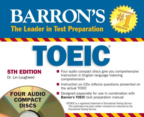 Barron's TOEIC Audio CD Pack by Brand: Barron's Educational Series
