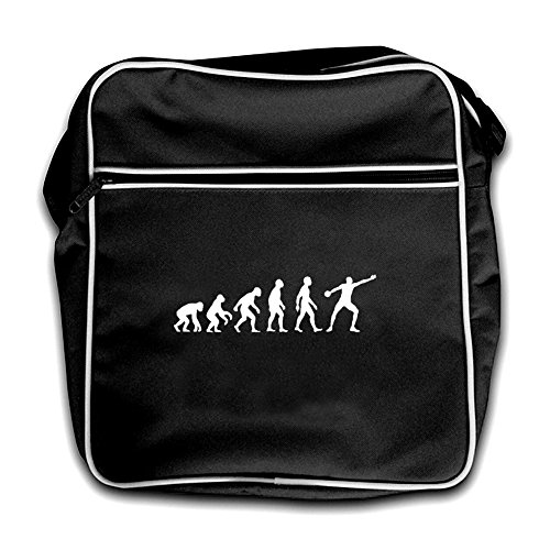 Black Discus Of Evolution Man Bag Flight Evolution Of Retro Red wxIqEzgd