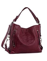 UTAKE Shoulder Bags For Women Top Handle Handbags Purse and Handbags Women's Shoulder Bag PU Leather Handbags