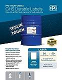 PPG Teslin GHS Labels for Laser