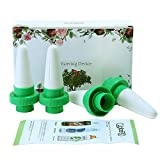 Vacation Plant Waterer, Ceramic Self Watering Spikes Set of 4, Automatic Flower and Drip Irrigation Watering Stakes System for Indoor&Outdoor Use, Plastic Rootbeer, Noyu Tea Bottle are recommended