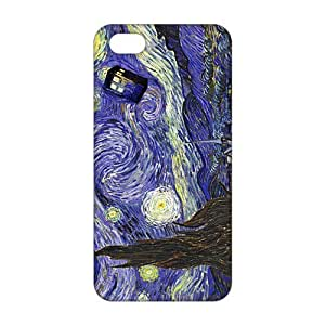 Evil-Store Doctor Starry night painting Who 3D Phone Case for iPhone 5C