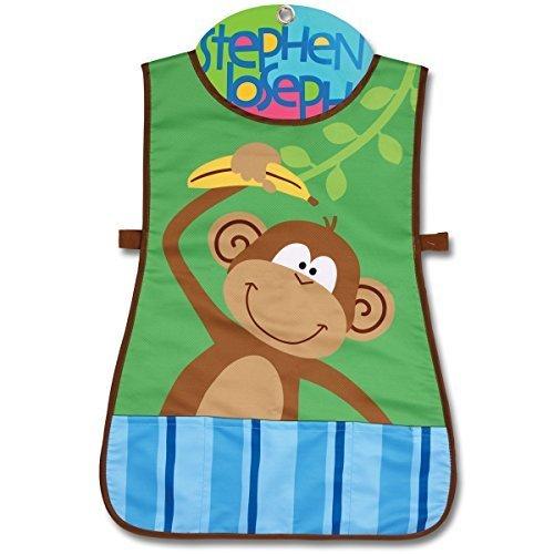 Stephen Joseph Art Monkey Craft Apron by Stephen Joseph Art   B015YT7B6M