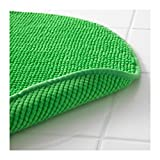 Ikea Supersoft Bath Shower Mat Rug Bathmat Bathroom Floor Round (1, Green)