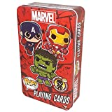 Marvel Funko POP Playing Cards in Collectible Tin Bilingual