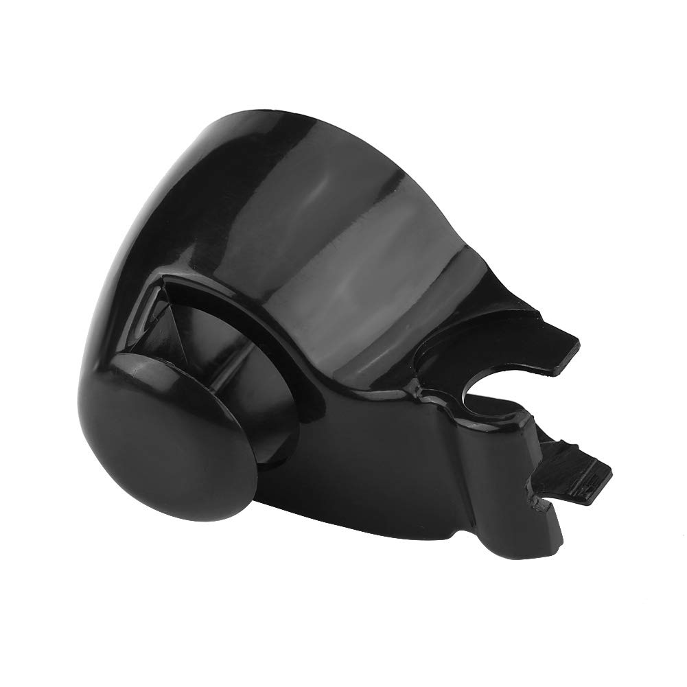 Tapa para limpiaparabrisas de coche, color negro, para limpiaparabrisas: Amazon.es: Coche y moto