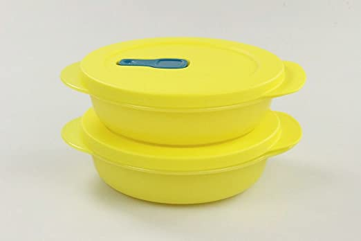 Tupperware Microondas crystalwave 400 ml (2) Amarillo Micro ...