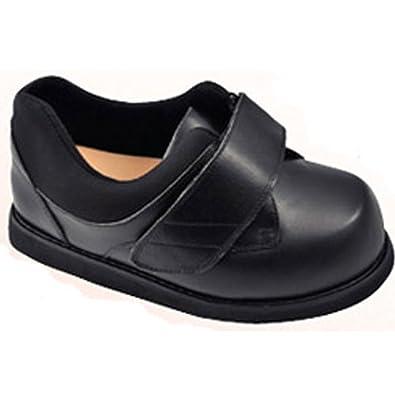 Apis Mt. Emey 502-E Men's Therapeutic Triple Depth Edema Shoe: Black 5