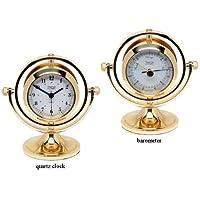Weems y Plath Gimbaled listado reloj y barómetro