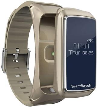 UKCOCO Pulsera Reloj Inteligente, 2 en 1 Auricular Bluetooth ...
