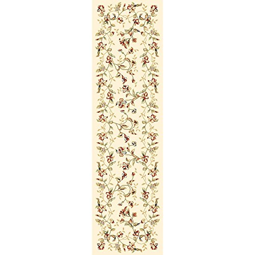 Safavieh Lyndhurst Collection LNH325A Traditional Floral Beige Runner (2'3