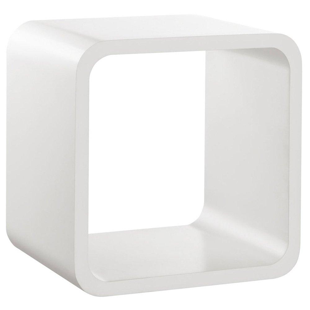 Wandregal design weiß  Wandregal / Würfelregal SOFTCUBE   Retro Lounge Cube Design ...