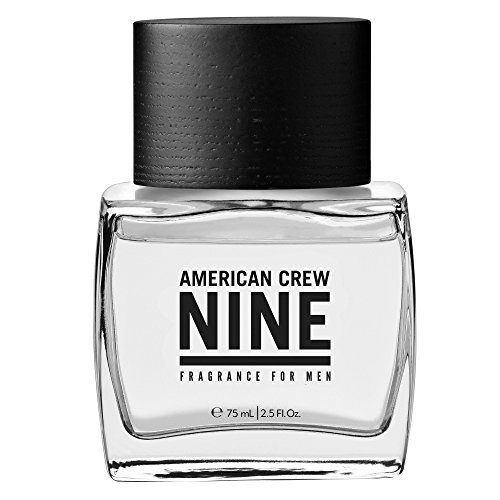 American Crew Classic Nine Fragrance Spray for Men, 2.5 Fluid Ounce - Masculine Green Apple Eau De Toilette