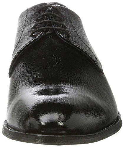 Joop! Milatos Daniel Lfu, Zapatos de Cordones Derby para Hombre negro