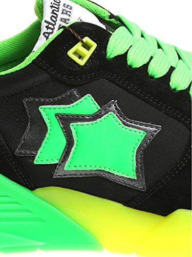Tessuto Stars Verde Nero MARSNVSN04 Sneakers Uomo Atlantic Atlantic Stars 7wfqPYz