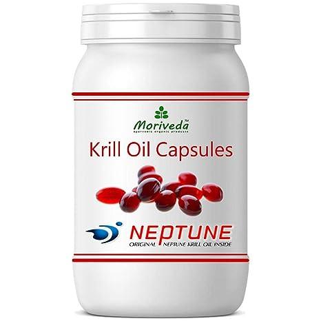 Aceite de Krill cápsulas 90, 100% puro NEPTUNE aceite de krill premium - Omega