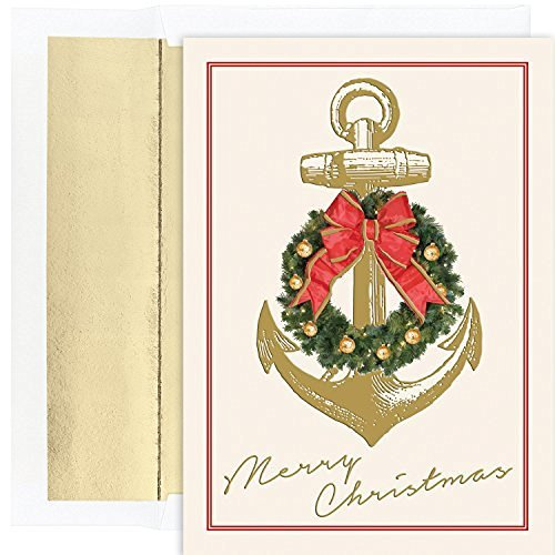 Nautical Christmas Cards: Amazon.com