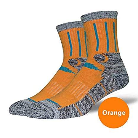 Mink Monk Unisex Antis Wicking Outdoor Multi Performance Socks Compression Breathable Socks for Running Hiking Trekking