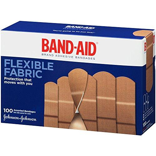 Band-aid Flex Fabric Bandages, Assorted Ea, 3 Pack