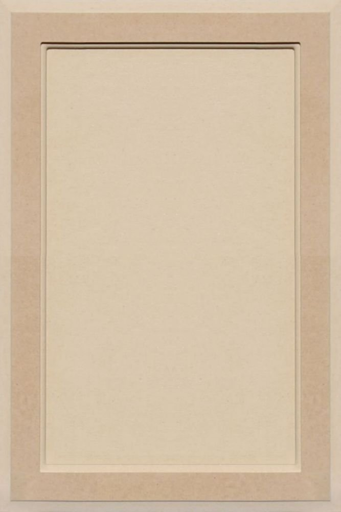 Unfinished MDF Square Flat Panel Cabinet Door by Kendor, 24H x 16W