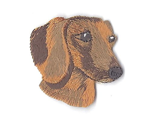 ETS - ANIMALS - PUPPY - Iron On Embroidered Applique Patch ()