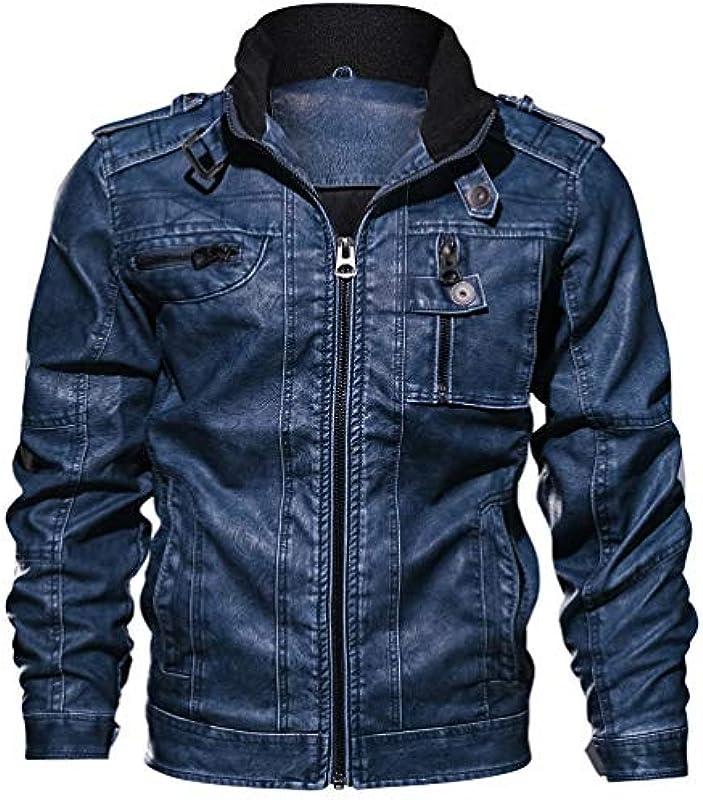LXHK męska kurtka zimowa, gruba ciepła skÓra, wojskowa, taktyczna, z wieloma kieszeniami i kołnierzem stÓjką, zamek błyskawiczny, długie rękawy, na czas wolny, kurtka polowa: Odzie