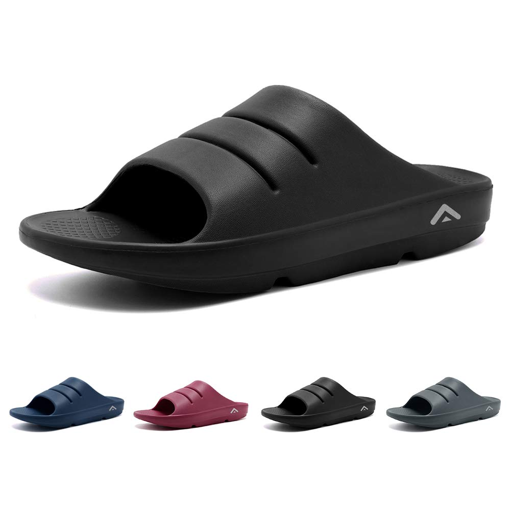 b1be7a0f87d2 Amazon.com  FANTURE Unisex Adventure Slide Sandals Soft Foot Pain Relief  Arch Support Recovery Shoes and Slipper  Shoes