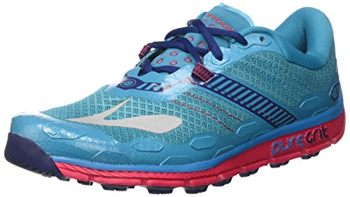 PureGrit de 5 Femme Multicolore Course Brooks Chaussures Patriotblue Peacockblue Virtualpink Sq1OxdOw