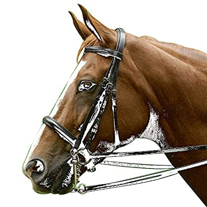 Image of Bridles & Accessories Exselle Dressage Bridle