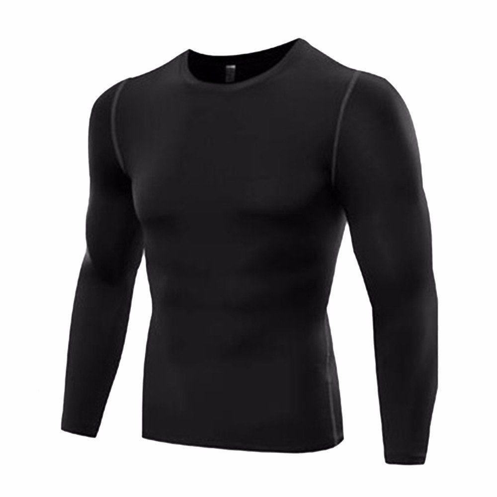 FITTOO Men's Cool Dry Compression Sport T-Shirt Base Layer Tops