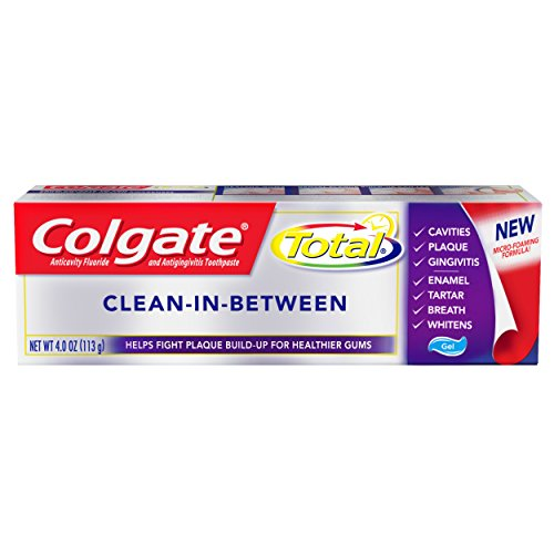 Colgate Total Toothpaste, Clean-in-between, 4.0 Ounce