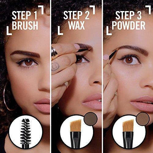 9a7c7927371 Amazon.com : Rimmel Brow This Way Sculpting Kit, Dark Brown, Powder 0.04  oz., Wax 0.03 oz., Brow Sculpting & Styling Kit with Eyebrow Wax & Setting  Powder : ...