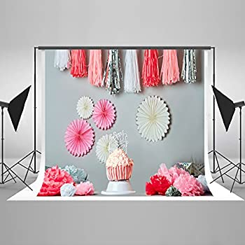 amazoncom ofila baby girl 1st birthday backdrop 7x5ft