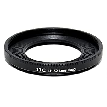 JJC LH-52 Metal Lens Hood Shade for Canon EF 40mm EF f/2 8 STM Pancake 52mm  Replaces Canon ES-52