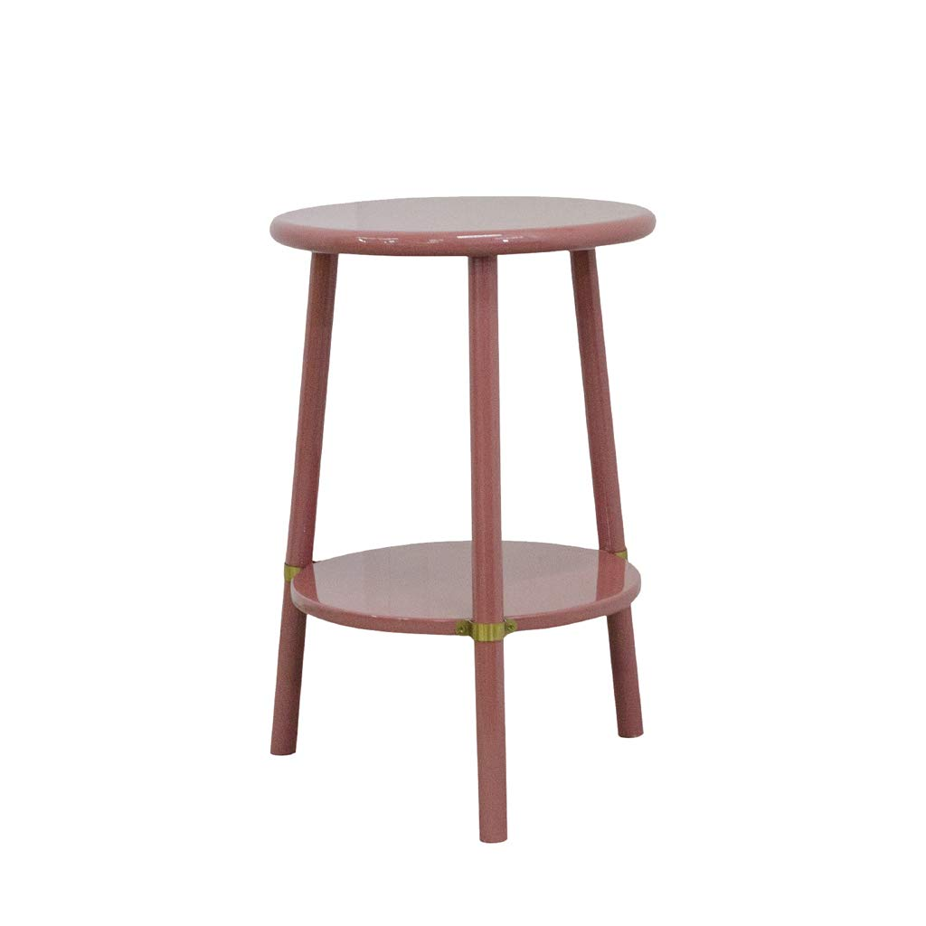 LQQGXLBedside Table High-Gloss Bedside Table/Sofa Side Table Coffee Table/Nordic Solid Wood Small Side Table by LQQGXL