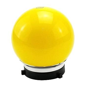 Prettyia 6inch Spherical Diffuser Soft Ball for Bowens Mount Studio Strobe Flash Light Red