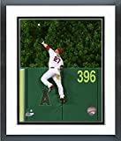 """Mike Trout Los Angeles Angels 2015 MLB Action Photo (Size: 12.5"""" X 15.5"""") Framed"""