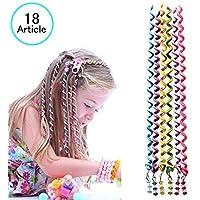 18 Unids Banda de Goma Elástica,Beautyshow Niñas Hairband