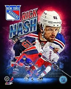Rick Nash New York Rangers 2013 NHL Composite Photo 8x10