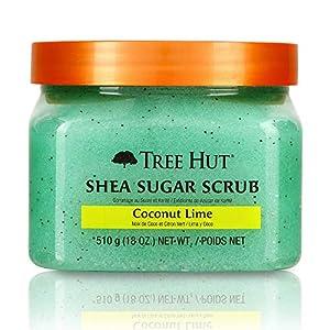 Tree Hut Shea Sugar Body Scrub, Coconut Lime, 510g